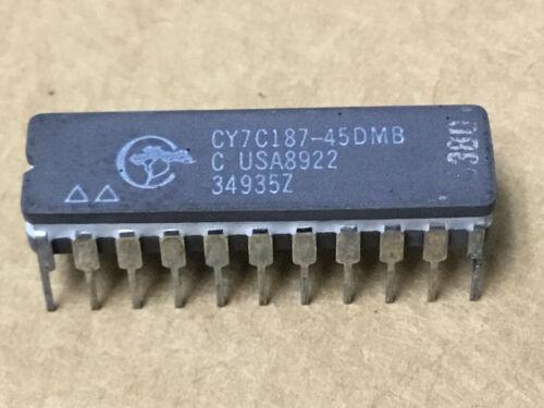 (1 PC)  CYPRESS  CY7C187-45DMB   Memory Microcircuit RAM  NSN# 5962-01-370-3718