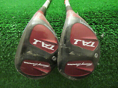 NEW IN PLASTIC TOMMY ARMOUR TA1 HYBRID 3 & 4 SET HYBRIDS REGULAR GRAPHITE RH