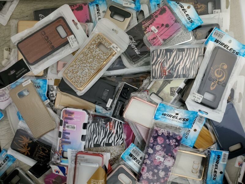 Wholesale Bulk Lot of 50 Cases Covers for Samsung S8