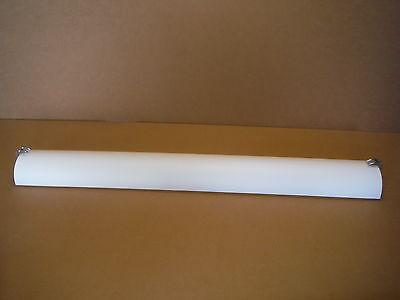 American Fluorescent Century Vanity CEV232PCE8 Polished Chrome White Acrylic American Fluorescent White Vanity