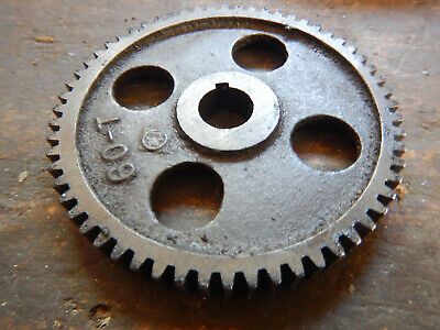 Older Logan Metal Lathe 60-t Change Gear Machinist Tool