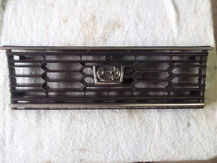 Subaru Brumby Front Grill. Twin headlight model Paget Mackay City Preview
