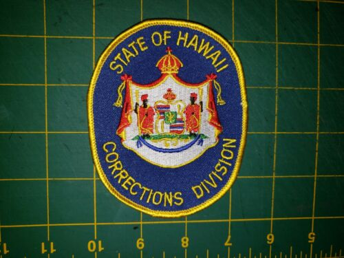 STATE OF HAWAII SHERIFF POLICE PATCH CORRECTIONS DIVISION OLD PRISON CORRECTION