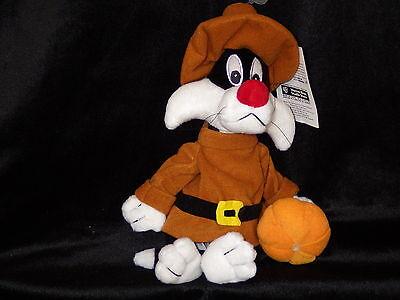 Sylvester Pilgrim costume bean bag plush Warner Store Looney Tunes new with tags - Bean Bag Costume