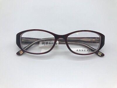 Anne Klein AK5007 Designer Eyeglasses Frame 51-16-135 Burgundy Tortoise Glasses