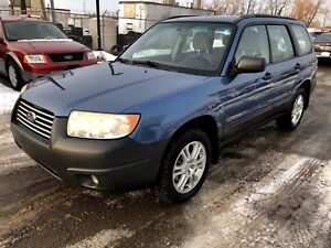 2007 Subaru Forester *NO ACCIDENTS+AWD+PANO ROOF+CERTFIED*