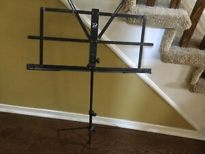 Music Stand with Bag (Collapsible)