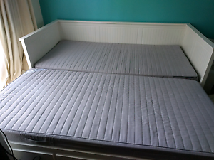Hemnes daybed, single to king size fold out bed. Carrum Kingston Area Preview
