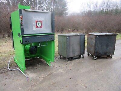 Bergmann Roto-compactor Trash Compactor Aps-600 Kenbay Rotopac Convience Store 2