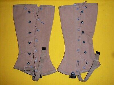 Spats, Gaiters, Puttees – Vintage Shoes Covers 1945 USMC CONTRACT BOOT LEGGINGS / SPATS SIZE 3 NMINT  TWEEDIE FOOTWEAR CORP $65.00 AT vintagedancer.com