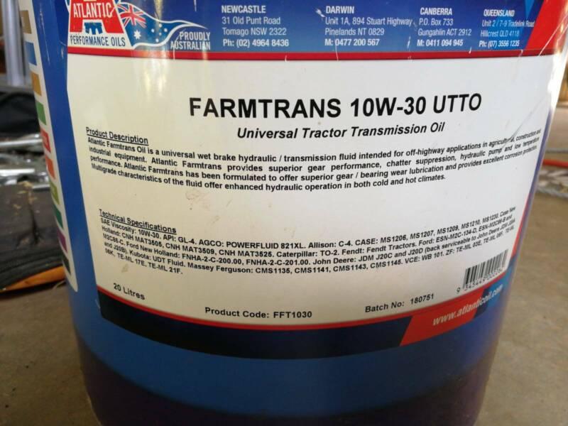 Farmtrans oil 10w-30 utto | Miscellaneous Goods | Gumtree Australia
