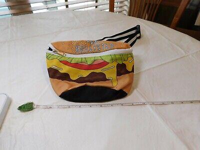 Hollister Fanny Pack de Bolsas Hamburguesa con Queso Hip Bolso Completo, usado segunda mano  Embacar hacia Spain