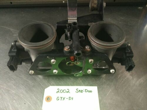 2002 Sea-Doo GTX DI Dual Throttle Body Used OEM Part
