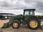 John Deere 551 front end loader tractor  Cadell Mid Murray Preview