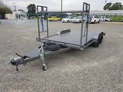 4900x2000 car trailer with tyre rack Holden Hill Tea Tree Gully Area Preview