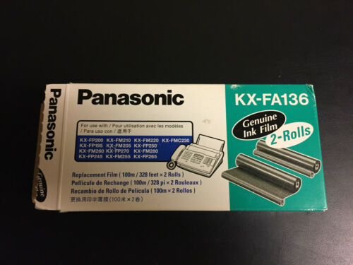 1 Unopened Roll of Panasonic KX-FA136  Replacement Fax Film