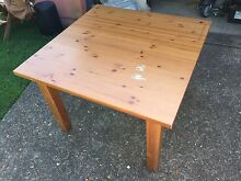 IKEA STORNAS Table Solid Timber Square Woolooware Sutherland Area Preview