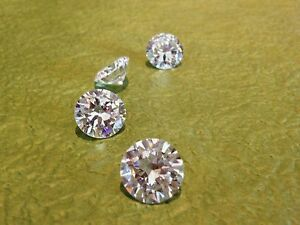 2-pcs-5-mm-WHITE-Russian-Lab-Diamond-BRILLIANT-CUT-0-5-ct
