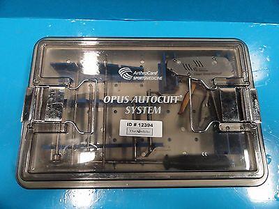 Arthrocare Sports Medicine Opus Autocuff System Tray 12394 12395