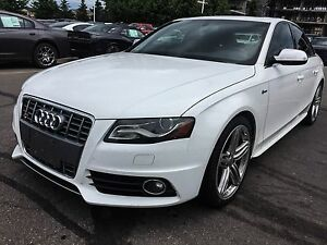2010 Audi S4 3.0 | AWD | BLACK/RED LEATHER | NEW TIRES | SUNROO