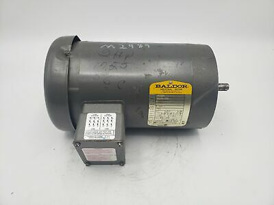 Baldor 2 Hp 1725 Rpm 58c Frame Electrical Motor