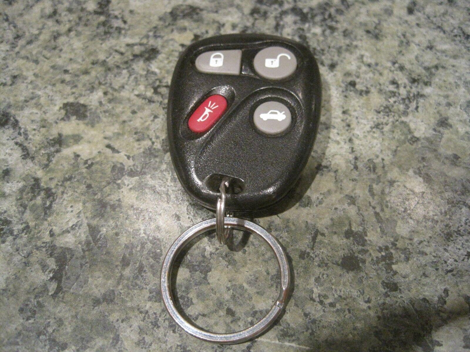 Cadillac Deville GM 25695955 OEM 4 Button Key Fob