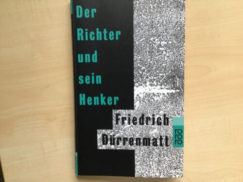 Der Richter und sein Henker von Friedrich Dürrenmatt (1955, Taschenbuch) Schweiz