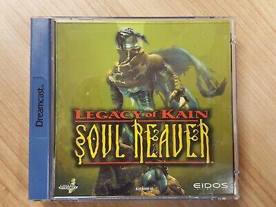 Soul Reaver Legacy of Kain - Sega Dreamcast game - PAL / EU + instructions