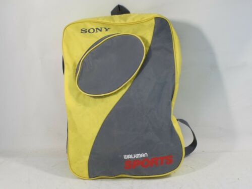 Promotional Sony Sports Walkman backpack - collectors item
