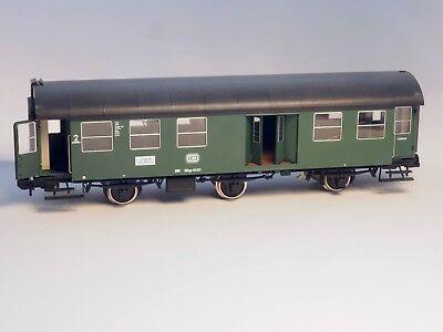 5811 Marklin Scale 1 Passenger Car  2nd class & Baggage, INTERIOR LIGHTS, DB NIB