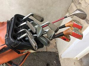 Golf with bag