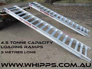 4.5 Tonne Capacity Machinery Loading Ramps 3 metres x 400mm track Telegraph Point Port Macquarie City Preview