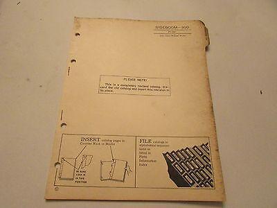 John Deere Pc-586 Bulldozer Side Boom 300 Parts Catalog Manual
