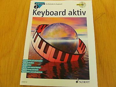 Keyboard aktiv Band 2 (Axel Benthien) Die Methode für Keyboard mit CD