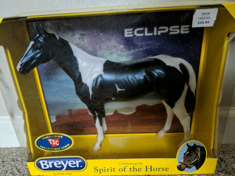 Breyer Horse Eclipse Thoroughbred TSC Exclusive Standing Thoroughbred Emerson