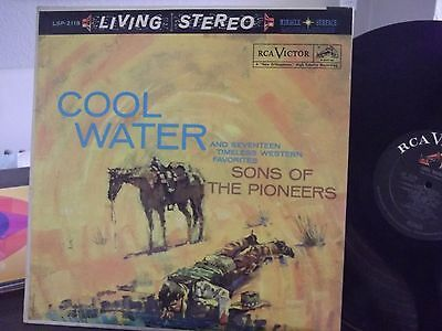 LIVING STEREO LSP-2118 COOL WATER SONS OF THE PIONEERS VG++ OR BETTER COPY