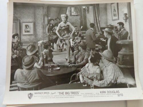 THE BIG TREES ORIGINAL LOBBY CARD KIRK DOUGLAS PATRICE B&W Original Lobby Card