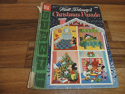 Walt Disney`s:  CHRISTMAS PARADE  # 7 -- Dell  1955