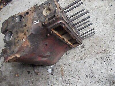 Farmall Ih 450 400 Tractor C281 Good Gas Engine Motor Block W Head Bolts