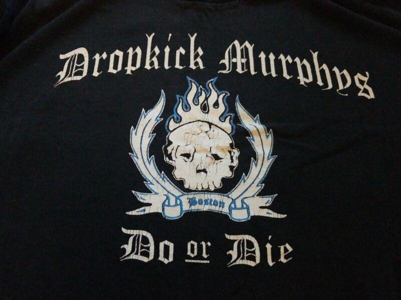90s Dropkick Murphys Do or Die 1st tour Boston Tattoo Skull XL Shirt Celtic Punk