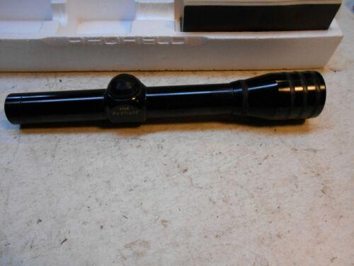 new old stock Red field magnum proof pistol scope 2-1/2x 4 plex