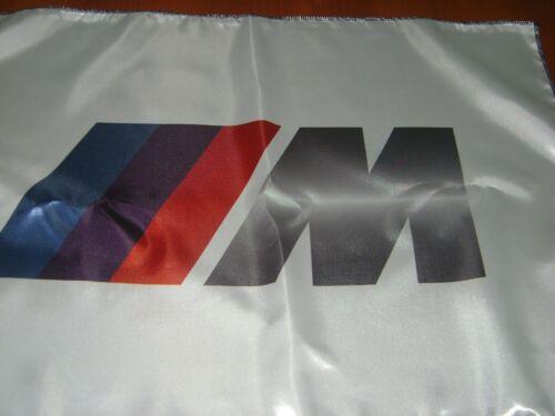 "BMW 20x30"" Flag Banner DTM Show Garage Racing Shop Decor M3 M5 Dinan X3 X5 White"
