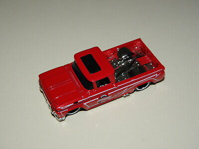 Hot Wheels Custom '62 Chevy Pickup Red 1/64 HW Hot Trucks loose from 5pack.