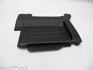 genuine renault clio modus battery top cover plastic trim engine bay ebay. Black Bedroom Furniture Sets. Home Design Ideas