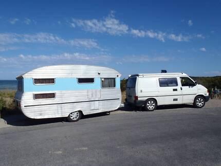 Vintage Caravan 1968 Sportline (made in Adelaide) Moana Morphett Vale Area Preview