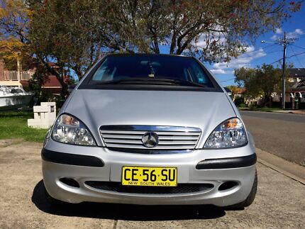 Mercedes A160 with 12 months REGO  Surry Hills Inner Sydney Preview