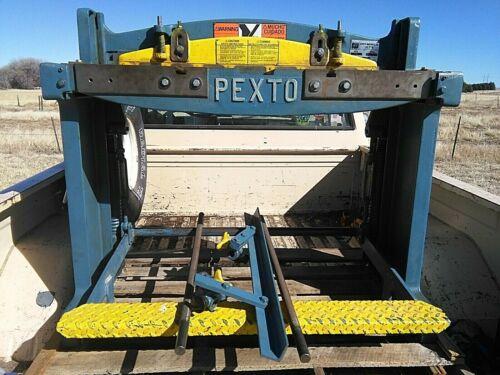 PEXTO 137L Squaring Shear 16 Gauge Serial 2633-6-86
