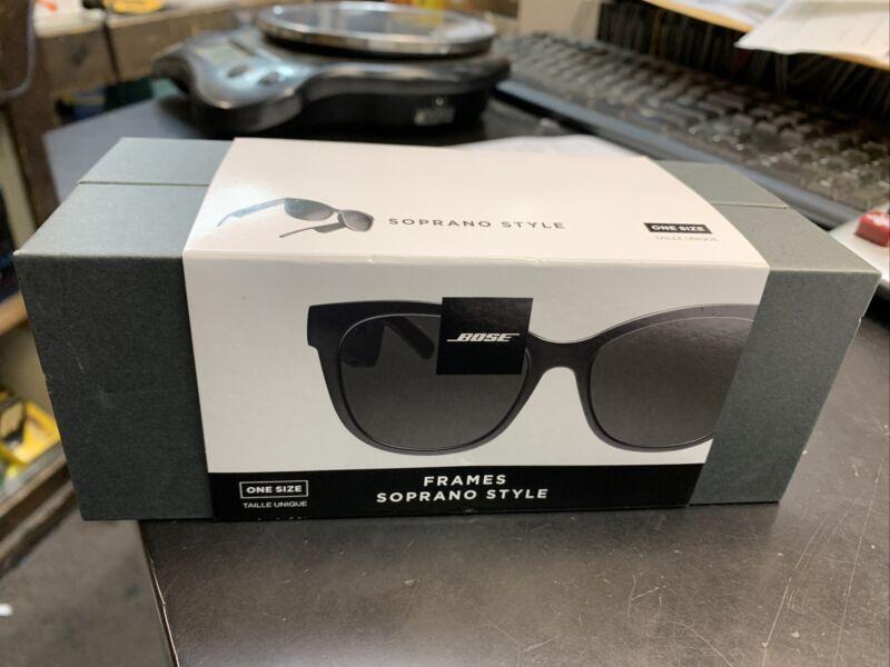 Bose - Frames Soprano Cat Eye Bluetooth Audio Sunglasses - Black NEW