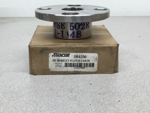 NEW Morse 502 MORFLEX FLANGE 1-1/4 FB 084336