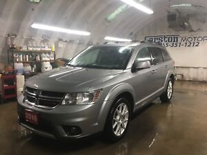 2016 Dodge Journey R/T*AWD*LEATHER*U CONNECT PHONE*TRI ZONE CLIM